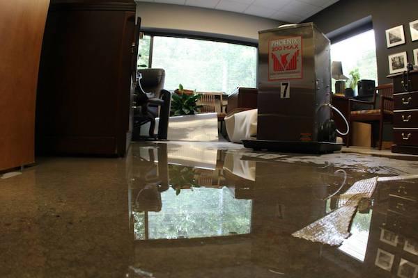 flood damage cleanup